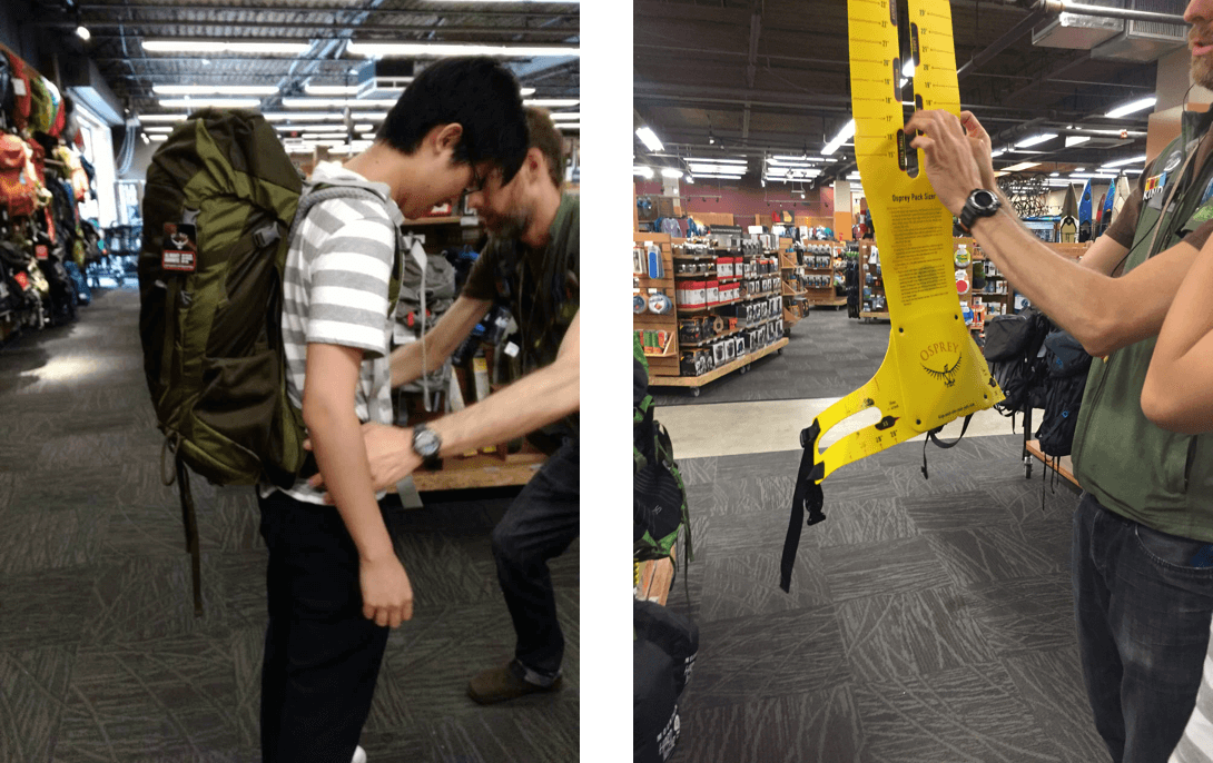 Observations at REI